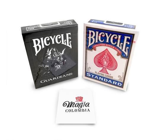 Guardians + Bicycle Standard 2 Barajas Cartas Magia Nuevas