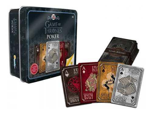 Juego De Póker Game Of Thrones Dos Barajas Ronda 11876