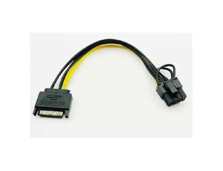 Molex A 6 Pin - Molex A 8 Pin - Cable 62 Tarjeta Grafica