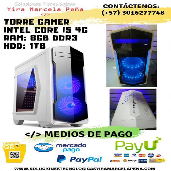 PC Torre Gamer Intel Core i5 4 Generación