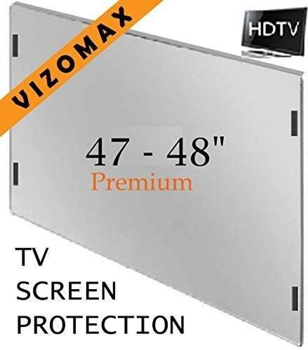47 - 48 Pulgadas Vizomax Tv Protector De Pantalla Para Lcd,