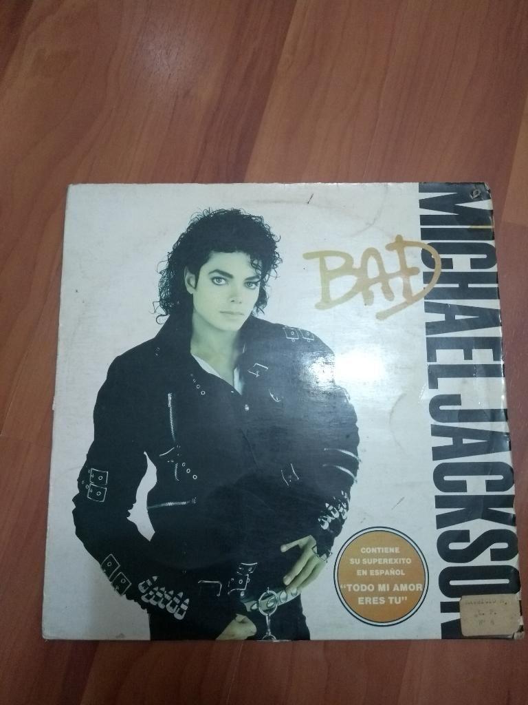 Acetato Lp Michael Jackson