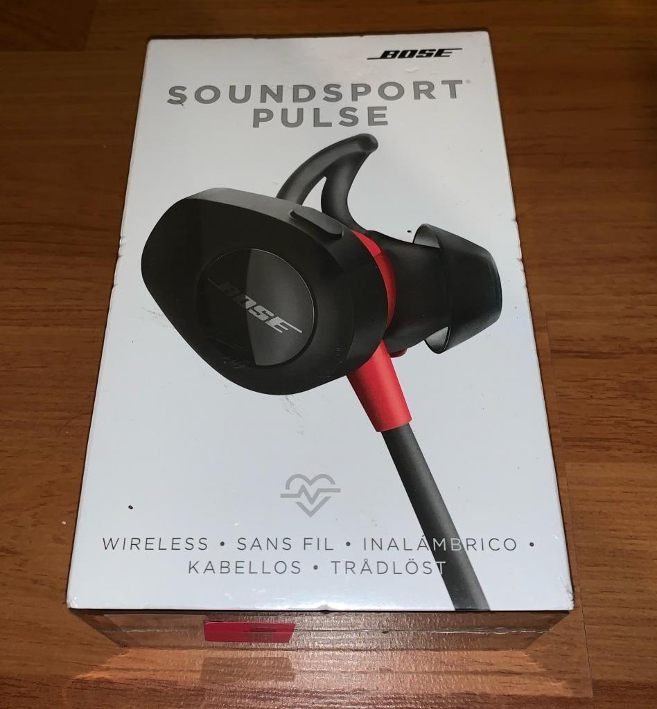 Bose Sound Sport Pulse.