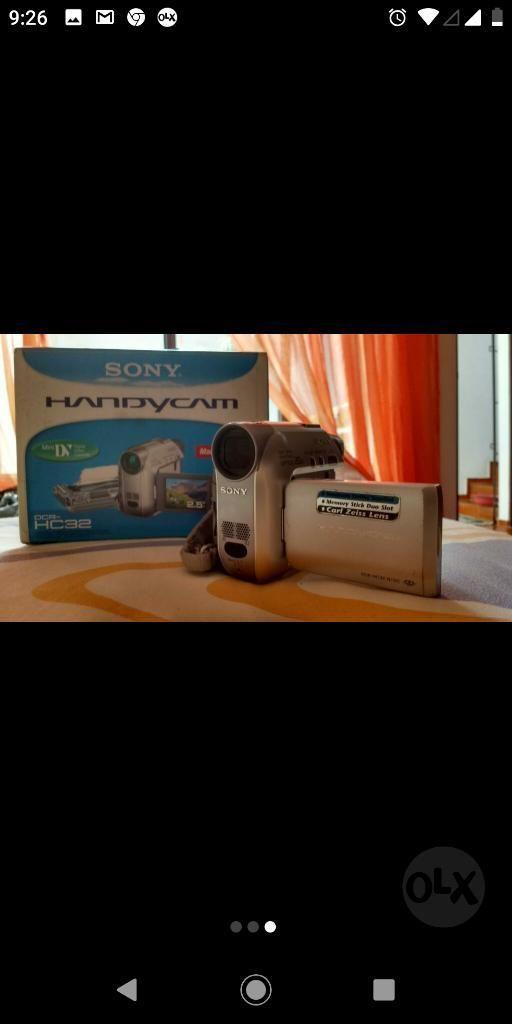 Camara de Video Mini Dv Sony