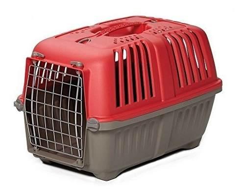 Guacal Para Transportar Mascotas Midwest, 22 Pulgadas, Rojo