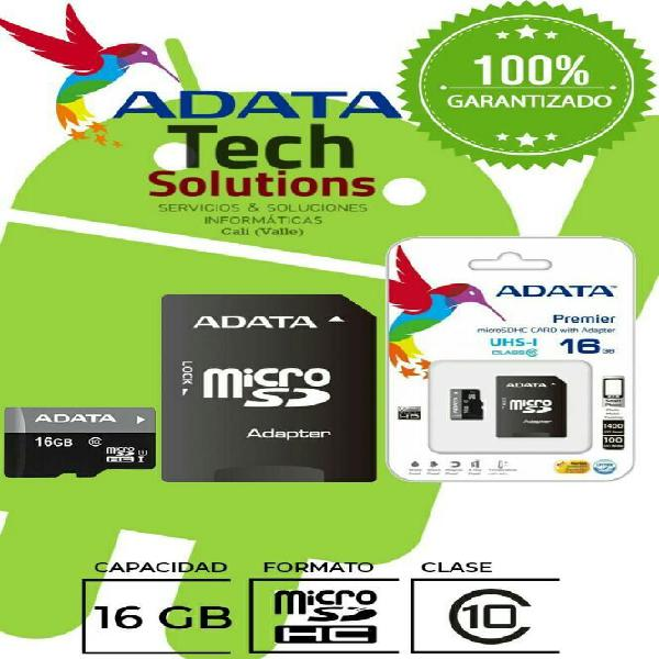 Memoria Micro Sd 16 Gb Clase 10