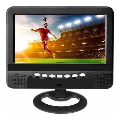 Mini Televisor 7`` Con Tdt Interno Recargable Puerto Usb Y A