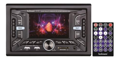 Radio Carro Pantalla 4pulgada Bluetooth Usb Sd Aux Bowmann