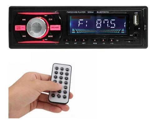 Radio Para Carro Bluetooth Usb Micro Sd Auxiliar 3.5mm 4 Rca