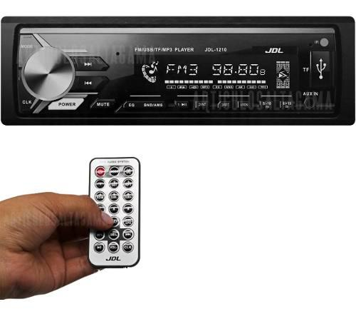Radio Para Carro Fm Puerto Usb Auxiliar 3.5mm Potencia 50wx4