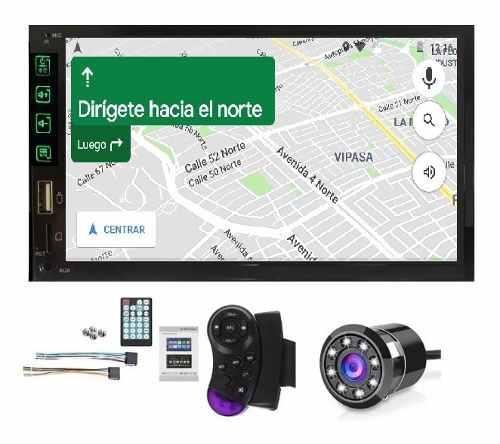 Radio Para Carro Mirrorlink Salida Para Bajo Bluetooth + Cam