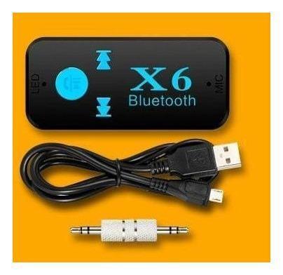 Receptor Audio Bluetooth X6 Carro, Equipo Micro Sd Mp3 Aux