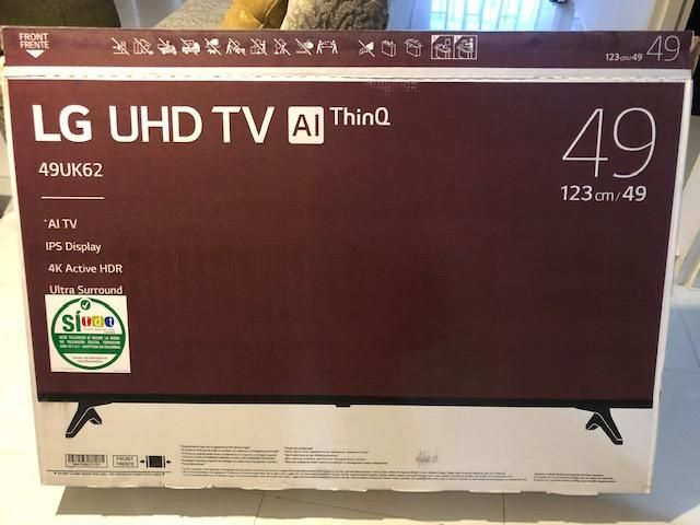 Televisor Lg 49 Pulgadas 4k Uhd Smart