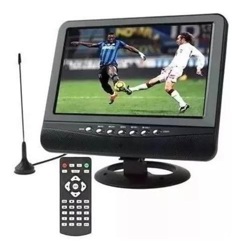 Televisor Portatil Con Tdt2 De 7 Pulgadas Silvermax