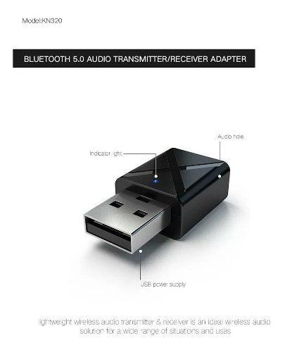 Transmisor Receptor Carro Bluetooth V5.0 Usb