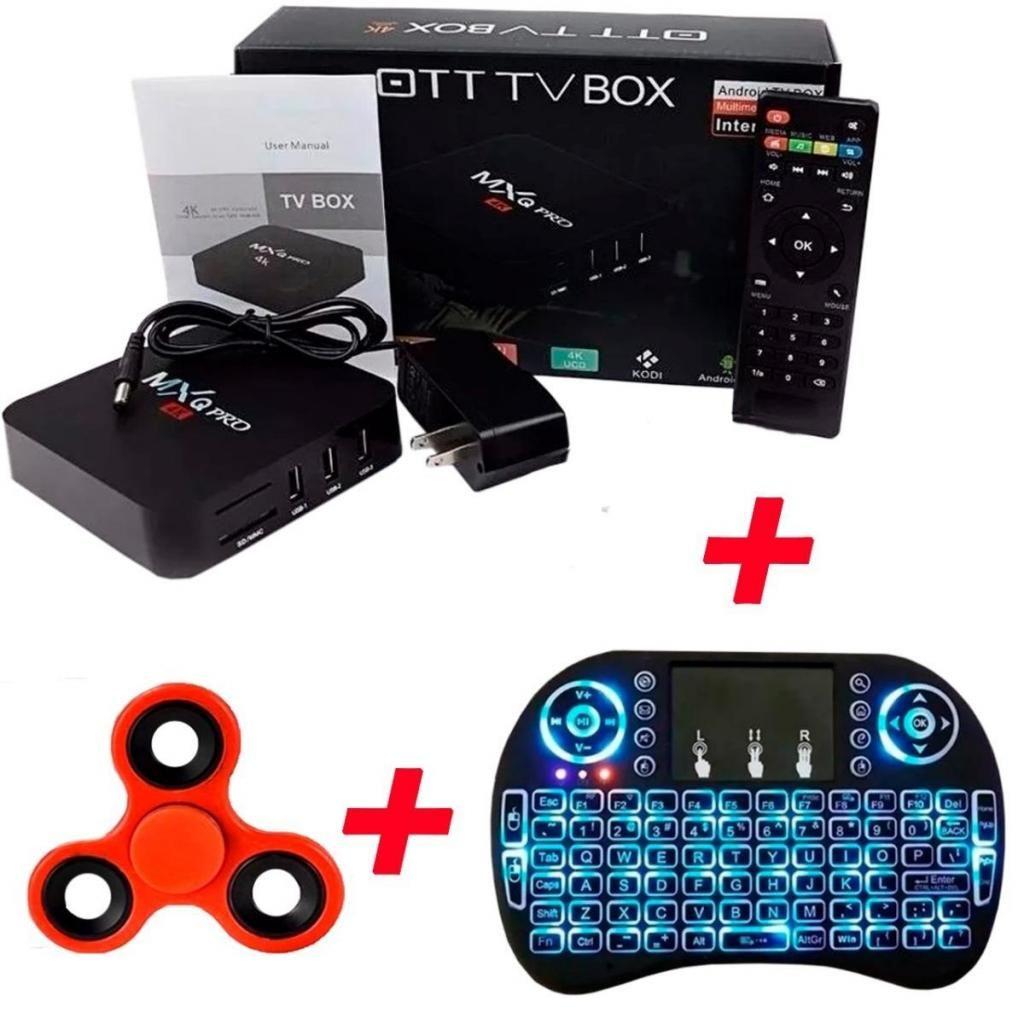 Tv Box And 7.1.2 Mxq Pro 1gb Ram teclado Airmouse Spinner
