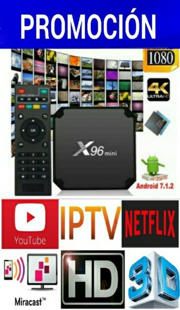 X96 Mini Smart Tv Box