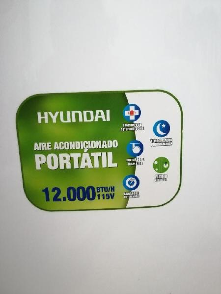 Aire Acondicionado Portátil Hyundai