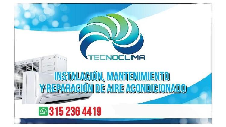 Instalación, mantenimiento y reparacion aire acondicionado