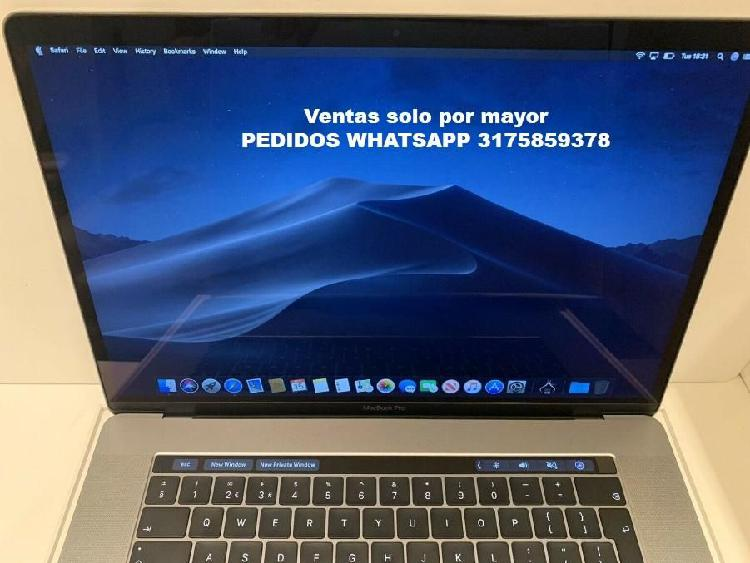 "Apple MacBook Pro 15"" touchbar i7 2.6Ghz 16GB Ram 512 SSD"