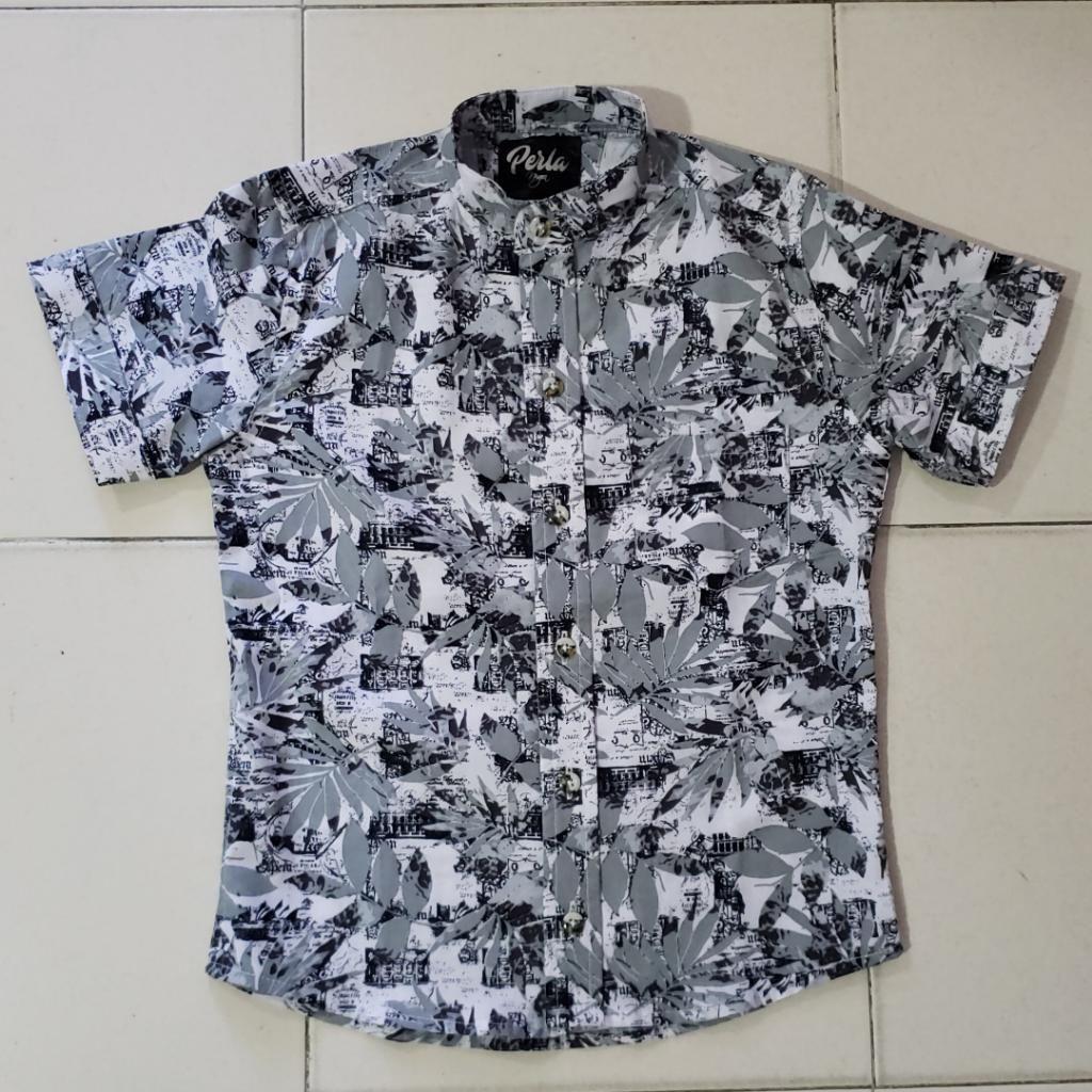 Camisa de Niño Flores