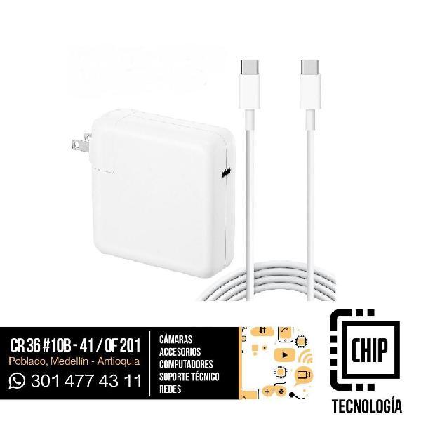 Cargador Apple USB Tipo C para MAC 61w nuevos Garantia