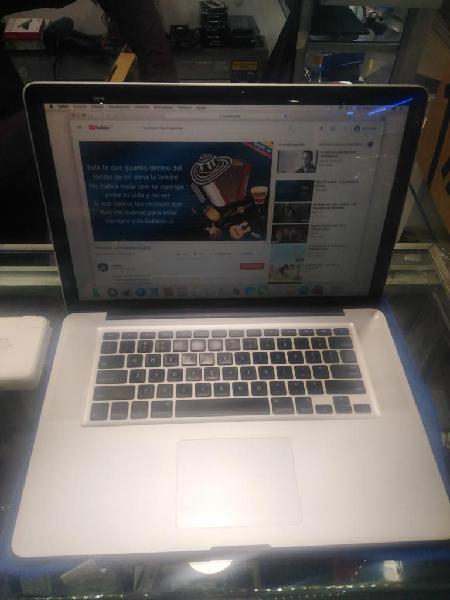 Macbook Pro 15 Core I5 2.5ghz 8gb 500gb