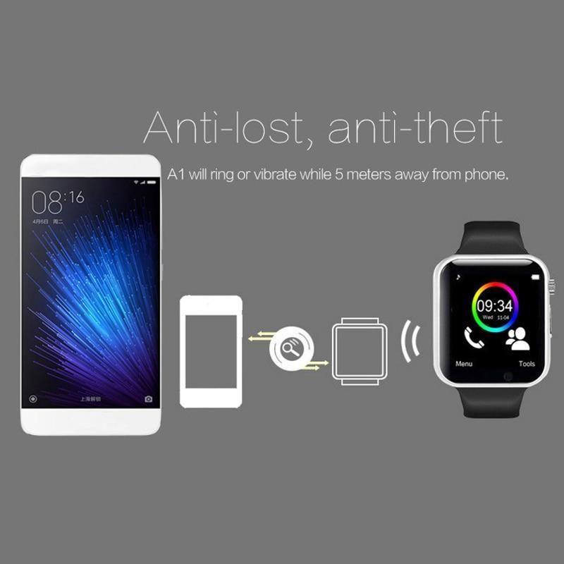 WristWatch Bluetooth Smart Watch Sport Pedometer with SIM