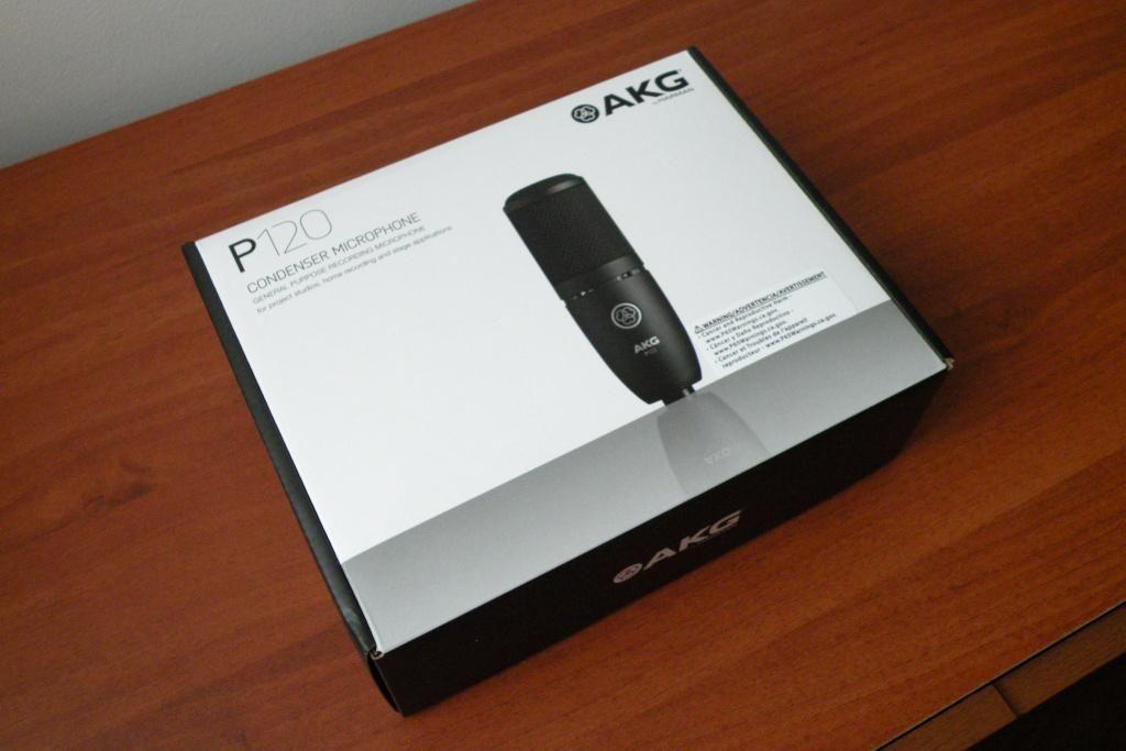 AKG Preception P120 micrófono de condensador para estudio