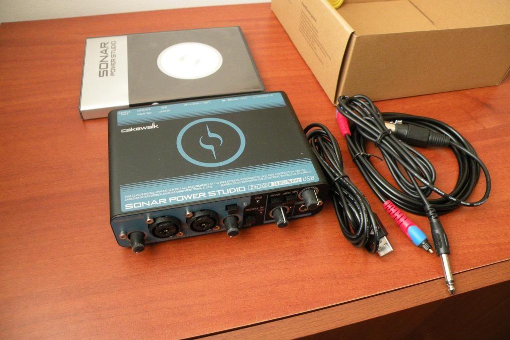 Cakewalk SPS25 super interface de audio usb midi  para