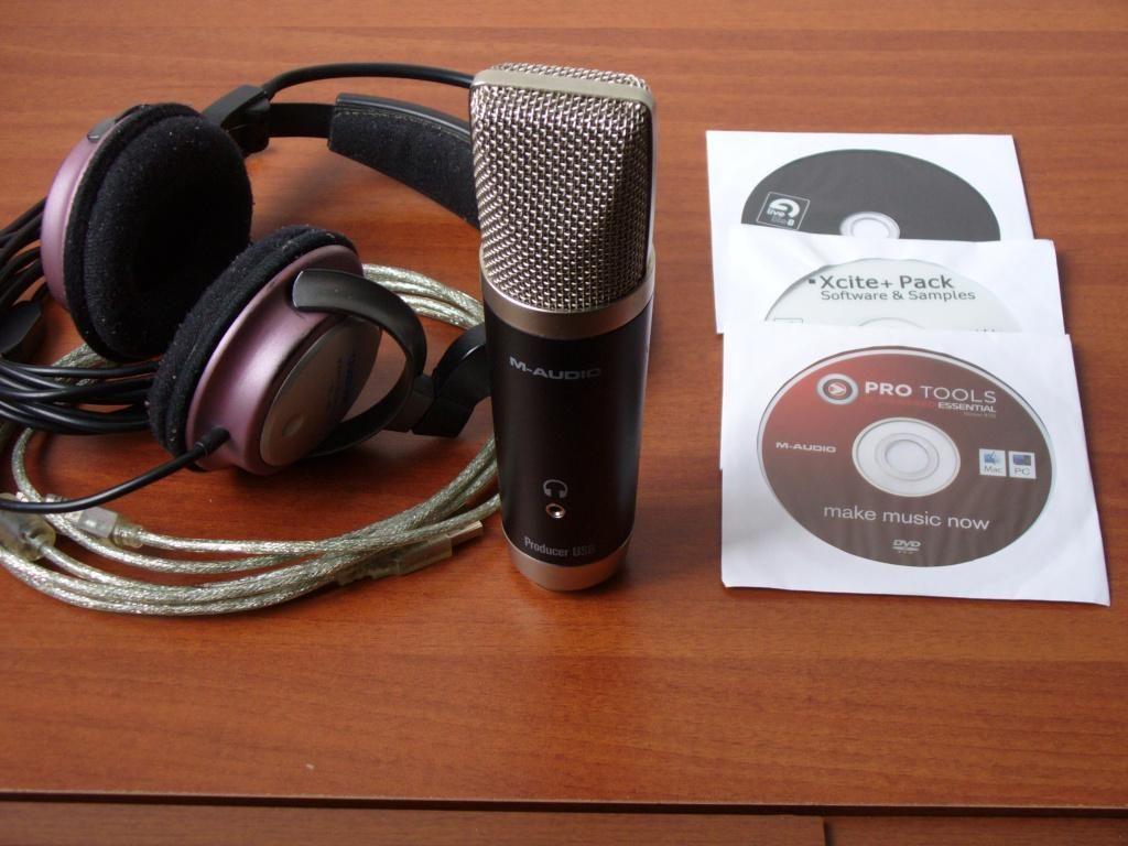 M Audio Combo Producer micrófono de condensador USB