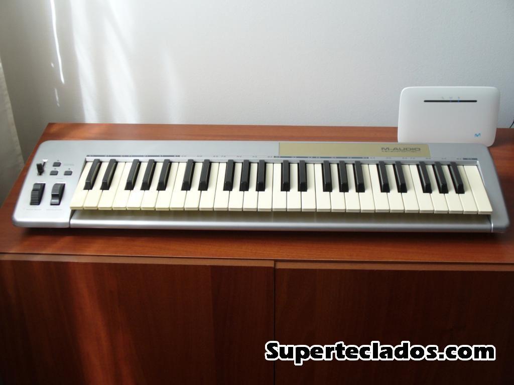M Audio Keystation 49e controlador midi usb 4 octavas para