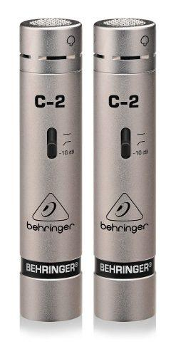Micrófono Grabacion Estudio Condensador Behringer C2