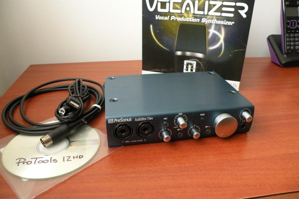 PreSonus Audiobox iTwo interface de audio usb midi con hub