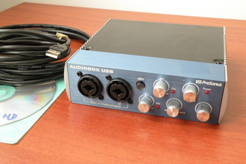 Presonus Audiobox Interface de audio usb midi con ProTools