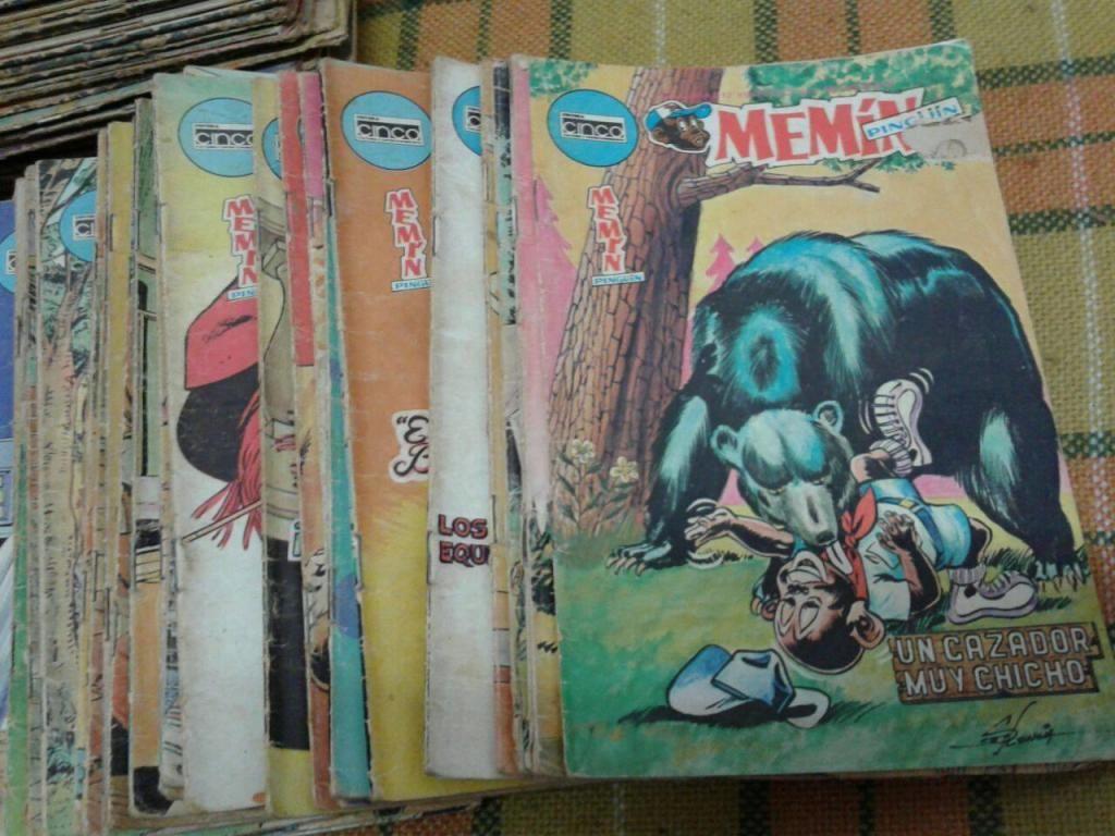 Revistas De Memín, De Los Años 70s Y 80s Lista Actualizada