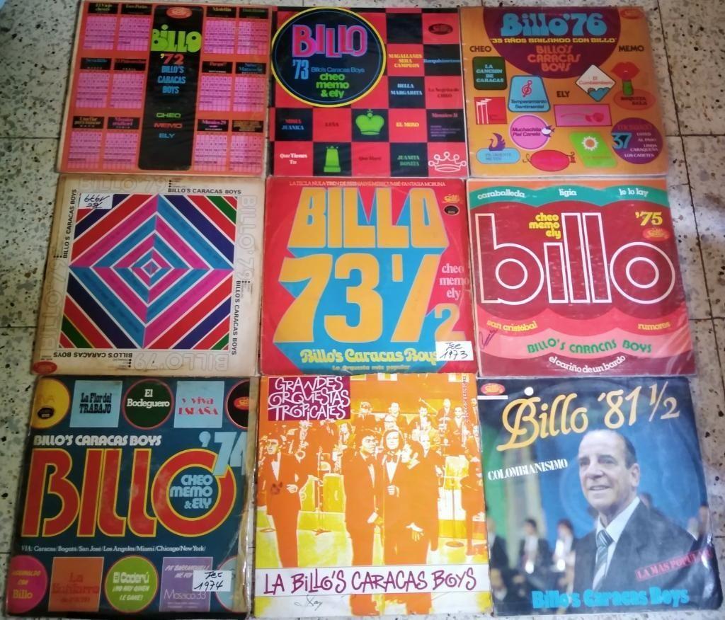 en Venta Discos Lp de La Billos Caracas