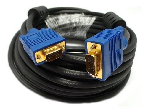 Cable De Monitor Lcd Proyector Svga Super Vga M M De...
