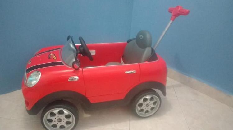 Carro Mini Cooper para Niño con Guia