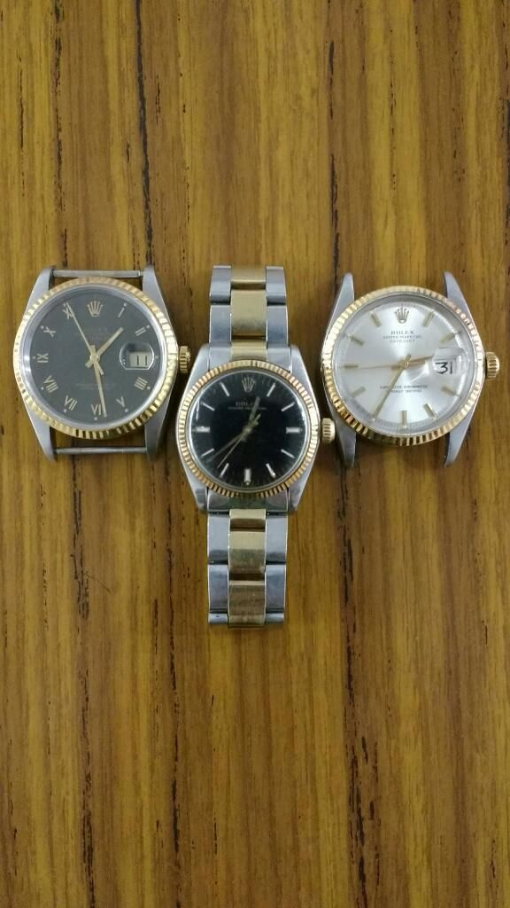 Rolex Datejust Junior Acero Oro Original