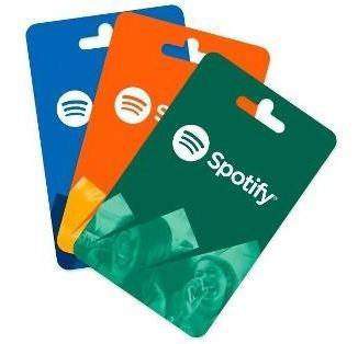Tarjeta Regalo Spotify 1 Mes Entrega Inmediata