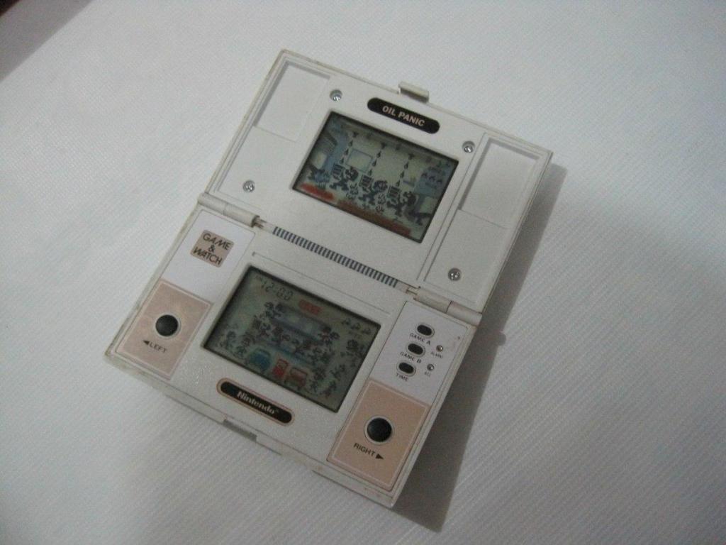 Consola Portatil Nintendo Game Watch Oil Panic Retro Ok