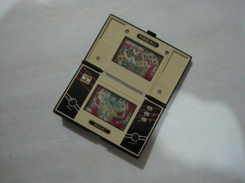 Consola Portatil Nintendo Game Watch Pinball Retro Ok