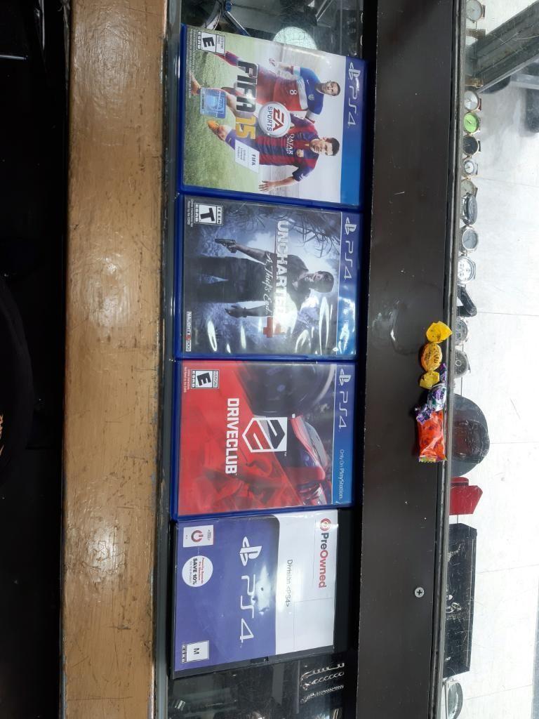 Se Vende 4 Juegos Play 4