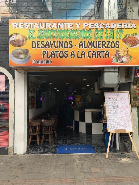 Se Vende Restaurante Bien Acreditado