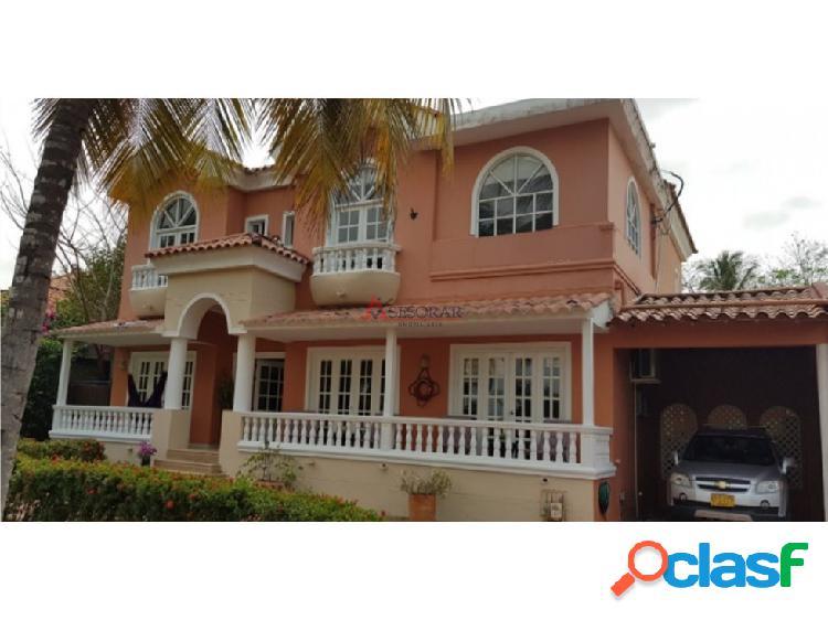 Cartagena, Venta de Casa en Zona Norte