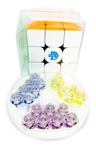 3x3 Gan 354m Stickerless Magnetico Cubo Rubik Original Gans