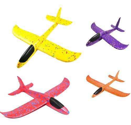 Avión Planeador Juguete Espuma Didáctico Juguetería