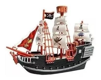 Barco Pirata De Juguete Detallado Deluxe Niño