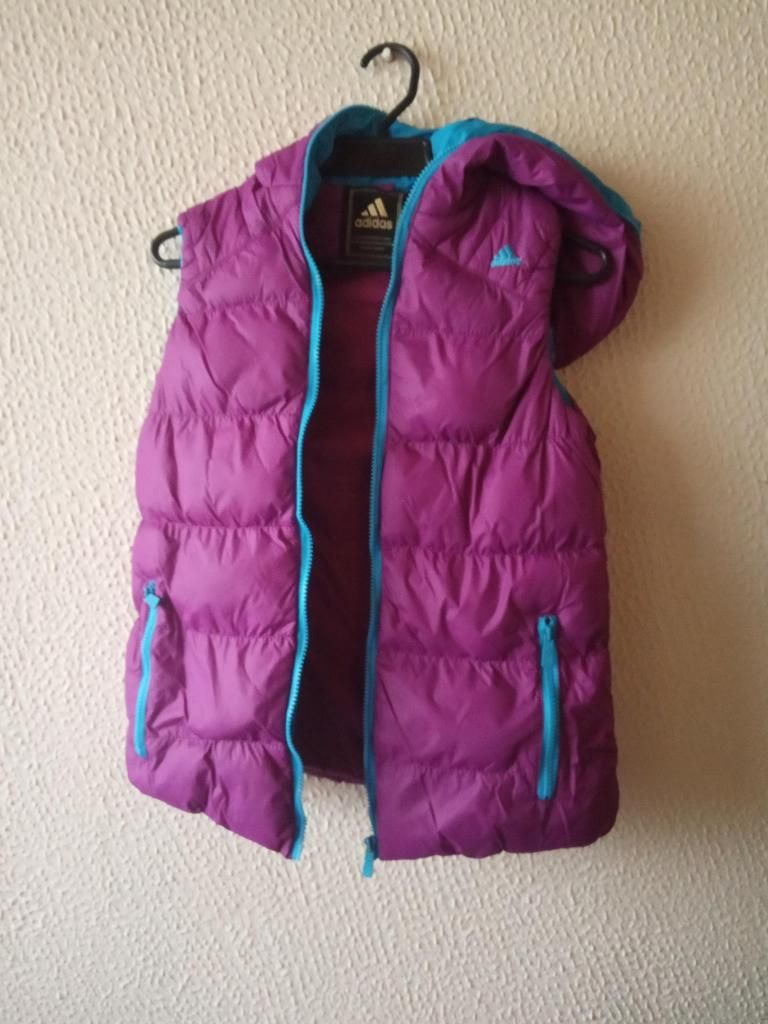 Chaleco impermeable deportivo adidas